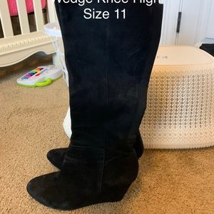 Jessica Simpson Over the Knee Wedge Boot